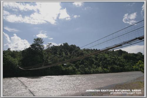 Jambatan Gantung Matupang, Sabah