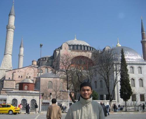 Masjid Aya Sofya - KiniMuseum!