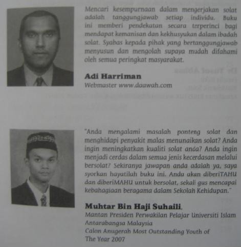 Testimonial Buku Solat Khusyuk SolatS.M.A.R.T.