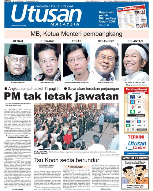 Utusan MalaysiaMB-PM